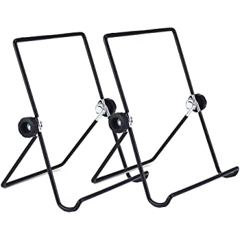 Tablet Stand, Universal Multi-Angle Non-Slip Adjustable Holder Cradle Fit for 9 - 12.9 inch Tablet PC, Pad ( 2 Pack )