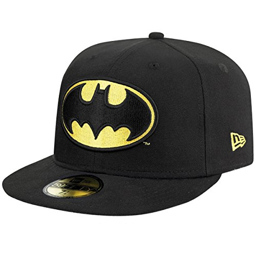 New Era Cap Character Basic Batman Kappe, Schwarz, 7 1/8