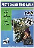 PPD Papel fotográfico doble cara con acabo mate para impresión de inyección de...