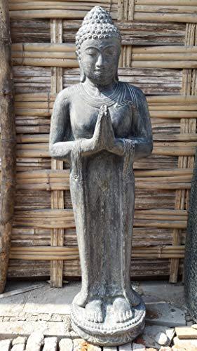 Möbel Peters Buddha Skulptur Stehend Greeting 150cm