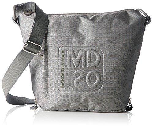 MANDARINA DUCK MD20 Crossover Medium Zip Grey