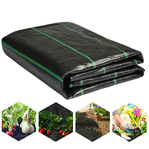 LawnScape Premium Weed Membrane | Heavy Duty UV Stabilized 2M x 5M Woven PP...