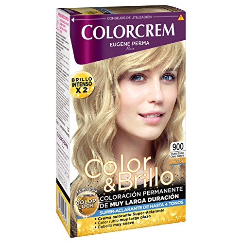 Colorcrem Color & Brillo Tinte Capilar Naturales Intensos Color Rubio Extra-Claro Natural