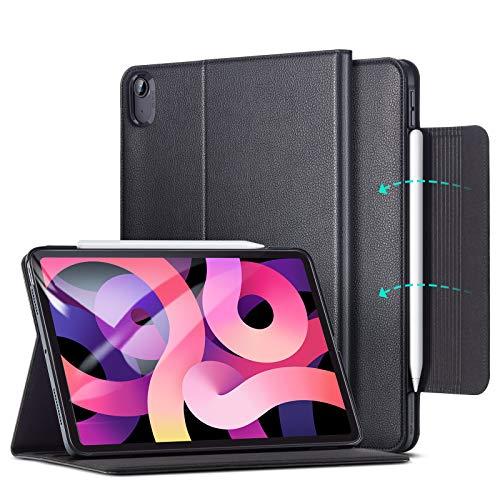 ESR Business Case for iPad Air 4 2020 10.9 inch [Vegan Leather Folio] [Pencil 2 Compatible] Director Series – Black