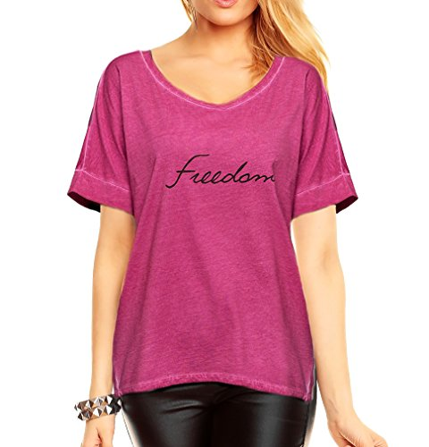 T-Shirt Tunique Rose Taille 36–38