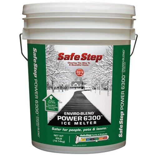 North American Salt 56840 Power 6300 Enviro-Blend Ice Melter, 40-Pound