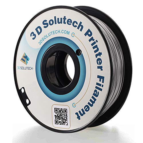 3D Solutech Silver Metal 3D Printer PLA Filament 1.75MM Filament, Dimensional Accuracy +/- 0.03 mm,...
