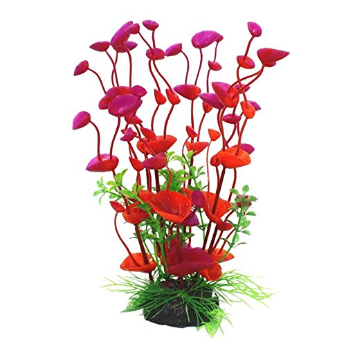 Plastic Artificial Landscaping Water Grass Decoration for Aquarium Fish Tank