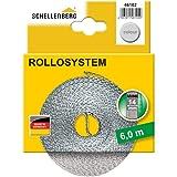 Schellenberg 46102 Cinta de persiana ancho, color gris, Mini 14 mm/6 m