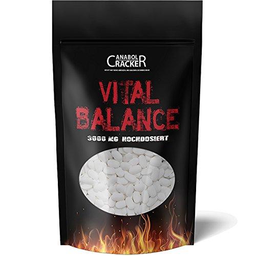 600 Tabletten - Vital Balance, Glucosamin Chondroitin Msm Vitamin C, 3000mg Hochdosiert, Deutsche Herstellung