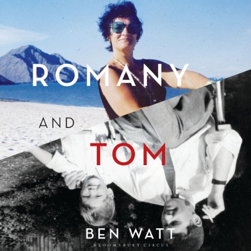 Romany and Tom audiobook cover art
