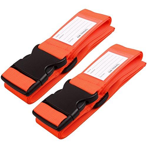 Cinghia Valigia. Cinghie per valigie con cinghie per bagagli pesanti - Cintura Valigia personalizzata per identificare la valigia - Accessori Viaggio