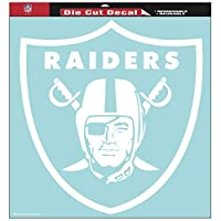 "WinCraft NFL Oakland Raiders Die-Cut Decal, 8""x8"", Team Color"