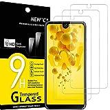 NEW'C 3 Stück, Schutzfolie Panzerglas für Wiko View 2, Frei von Kratzern, 9H Festigkeit, HD Bildschirmschutzfolie, 0.33mm Ultra-klar, Ultrawiderstandsfähig