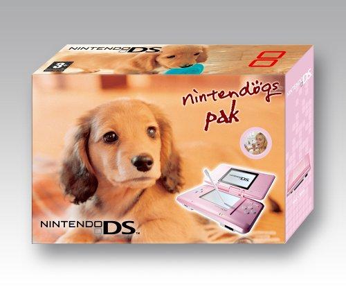 Nintendo DS - Konsole, pink inkl. Nintendogs Dachshund & Friends