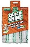 Quick Shine Hardwood Floor Cover Refill Mop Pad, White