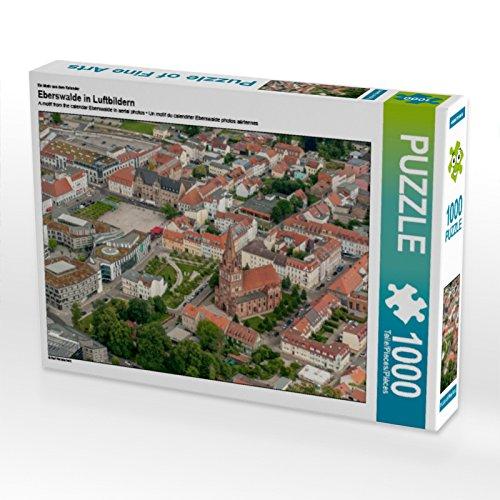 CALVENDO Puzzle Eberswalde in Luftbildern 1000 Teile Lege-Größe 64 x 48 cm Foto-Puzzle Bild von Ralf Roletschek
