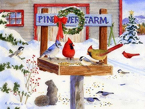1000 piezas de rompecabezas para adultos   Impresiones de Pine River Farm Puzzle para adultos, familia, juegos educativos, desafío cerebral