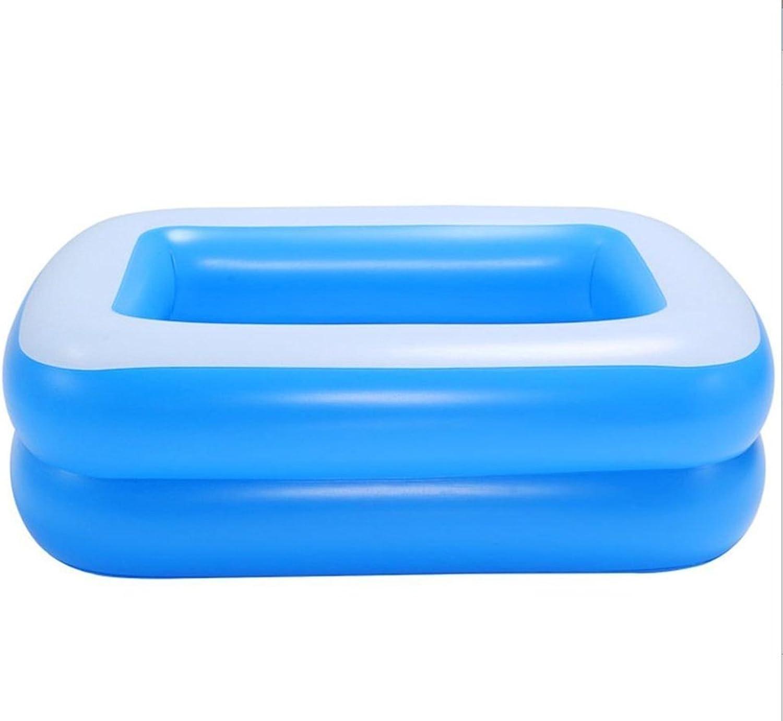 JPYG Inflatable bathtub, baby Inflated Bathtub Newborns swimming pool Thickening Increase high adult Bath Portable