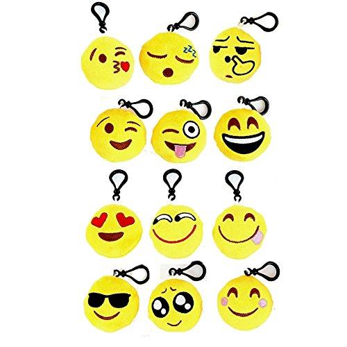 DNA Emoji Keychain Mini Cute Plush …