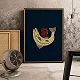 21 * 30 cm Juego de tronos cita sala de juegos art deco life Nursery Kids Room Art Decor Home Decor posters lienzo pintura E248-2