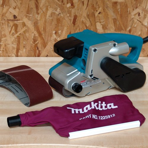 Makita 9903 8.8 Amp 3-Inch-by-21-Inch Variable Speed Belt Sander with Cloth Dust Bag