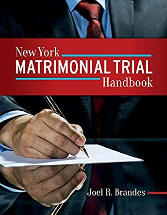 New York Matrimonial Trial Handbook