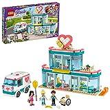 LEGO L'hôpital de Heartlake City, Ensemble de Jeu avec Emma et 2 autres mini-poupées, pour filles...