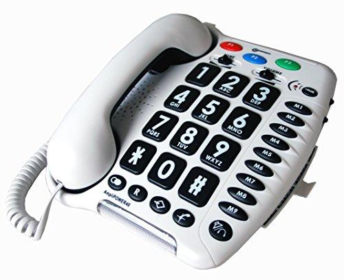 Geemarc AmpliPOWER-40 - Telefono amplificato + 40 dB...