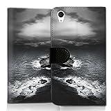 wicostar Wallet Book Style Flip Handy Tasche Hülle Schutz Hülle Schale Motiv Etui für LG L Bello 2 - Flip UMH13 Design3