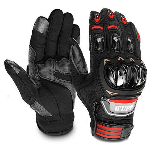 GESPERT Motorradhandschuhe, Motorrad Handschuh für Herren und Damen,Fitness Handschuhe Touchscreen Handschuhe für Outdoor,Fahrrad Radfahren,Airsoft Militär,Sport und so weiter,Palmumfang XL 22-23cm