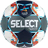 SELECT Ultimate Replica Ballon Adulte Unisexe, Grey/Blue/Red, senior(3)