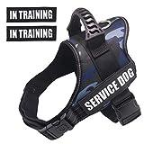 Dihapet Dog Vest Harnesses, Service Dog Vest, No Pull Service Dog...