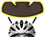 Bicycle Helmet Sweat Liner - Skateboard Helmet Sweat Liner - NoSweat - Made in USA - Patented Sweat Perspiration Technology