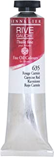 Sennelier Rive Gauche Fine Oil Color for Artists, 40ml Tube, Carmine Red 635