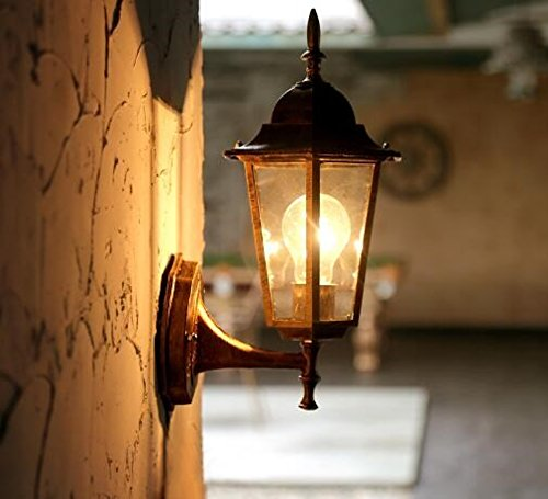 American Style européen outdoor wall lamp lampe murale antique cour