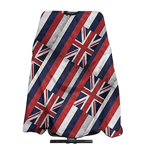 Kapper Schort Grunge Hawaii Vlag Kapsel Schort Doek Salon Accessoire Voor Unisex Haar Snijden Kaap Doek Kapper Wrap Styling