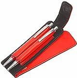 Red Twins Kugelschreiber Bleistift Set in rotem Etui