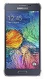smartphone samsung galaxy alpha senza sim, colore: nero, black, 32 gb