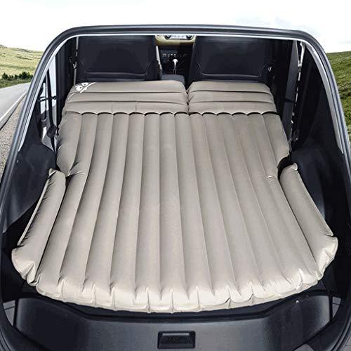 Auto aufblasbares Bett im Freien Auto Bett Auto Rücksitz Kind Reisebett Schlafkissen faltende Autozubehör (Stoff : B)