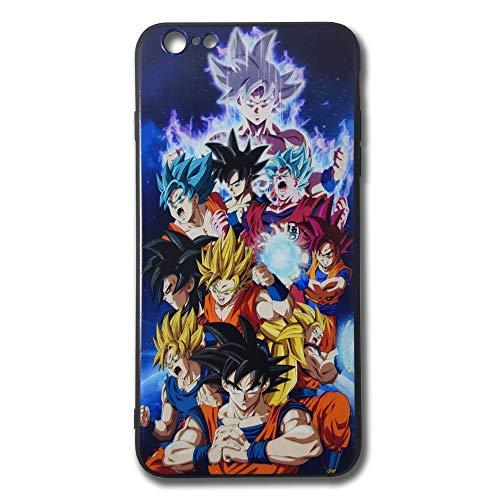 RL04 Dragon Ball Super Saiyan Goku Phone Case for iPhone 6 Plus/iPhone 6s Plus