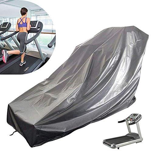 RUNMIND Cubierta impermeable para cinta de correr para almacenamiento exterior, cubierta protectora plegable a prueba de polvo, resistente al agua y a la lluvia exterior y al sol.