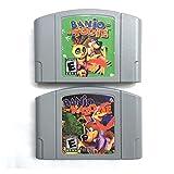 Red plum GAOHEREN Banjo-Kazooie Banjo-toonie USA-Version Fit für 64-Bit-Spielkonsole für Video-Spiel-Patronen-Karte GHR (Color : Banjo Tooie US)