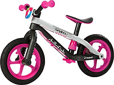 Chillafish BMXie-RS Bicicleta de Aprendizaje, Unisex niños, Rosa, Talla Única