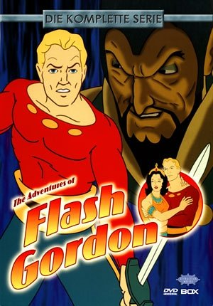 The Adventures of Flash Gordon - Die komplette Serie (5 DVDs)