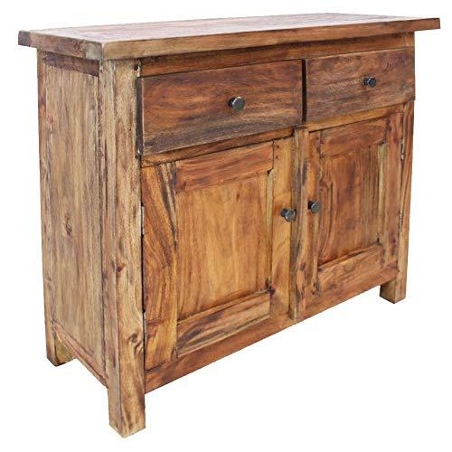 Ausla - Aparador de madera maciza recuperada (75 x 30 x 65 cm)