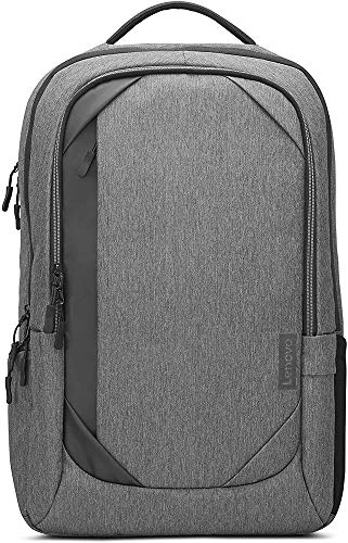 """Lenovo 17"""" Laptop Urban Backpack B730, Fits Up to 17.3-Inch Laptops, Water-Repellent Material, Padded PC Compartment, Anti-Theft Pocket, On-The-Go Charging, GX40X54263, Charcoal Grey"""