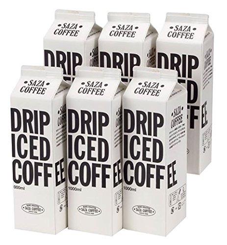 SazaCoffee(サザコーヒー)「ネルドリップ・アイスコーヒー 無糖」