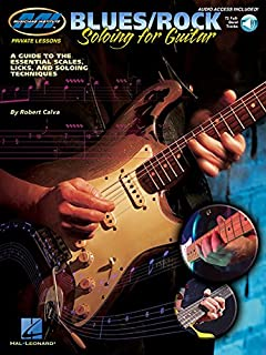 Mi Private Lessons Blues/Rock Soloing for Guitar