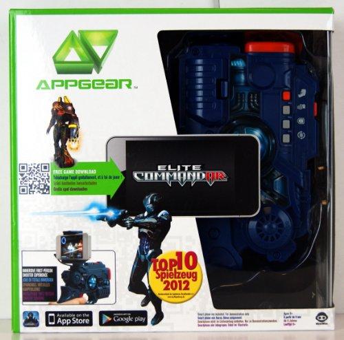 Wow Wee 0140 - App Gear Elite Commandar, Spielzeugpistole für die Spiele-App